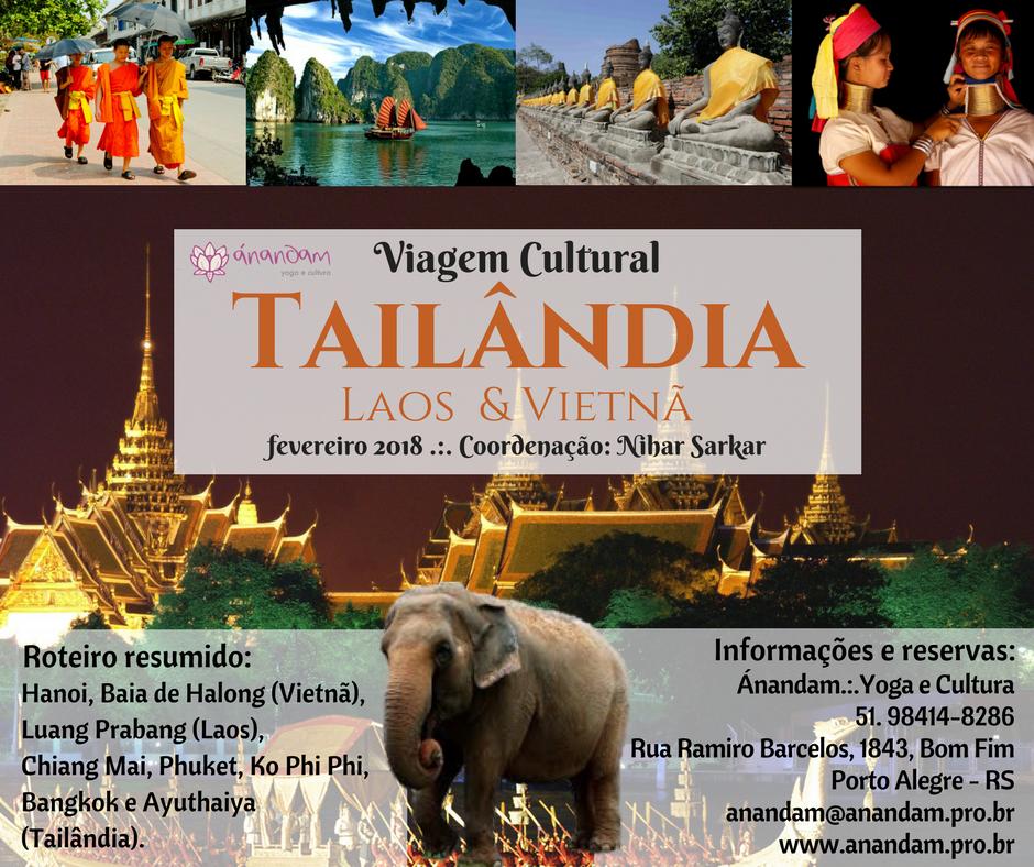 Viagem Cultural: Tailândia, Laos e Vietnã